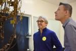 Gisbert Stach en Arnd Hoch, arnoldsche weekend gallery #7, 2018 met Gisbert Stach. Foto arnoldsche Art Publishers, portret