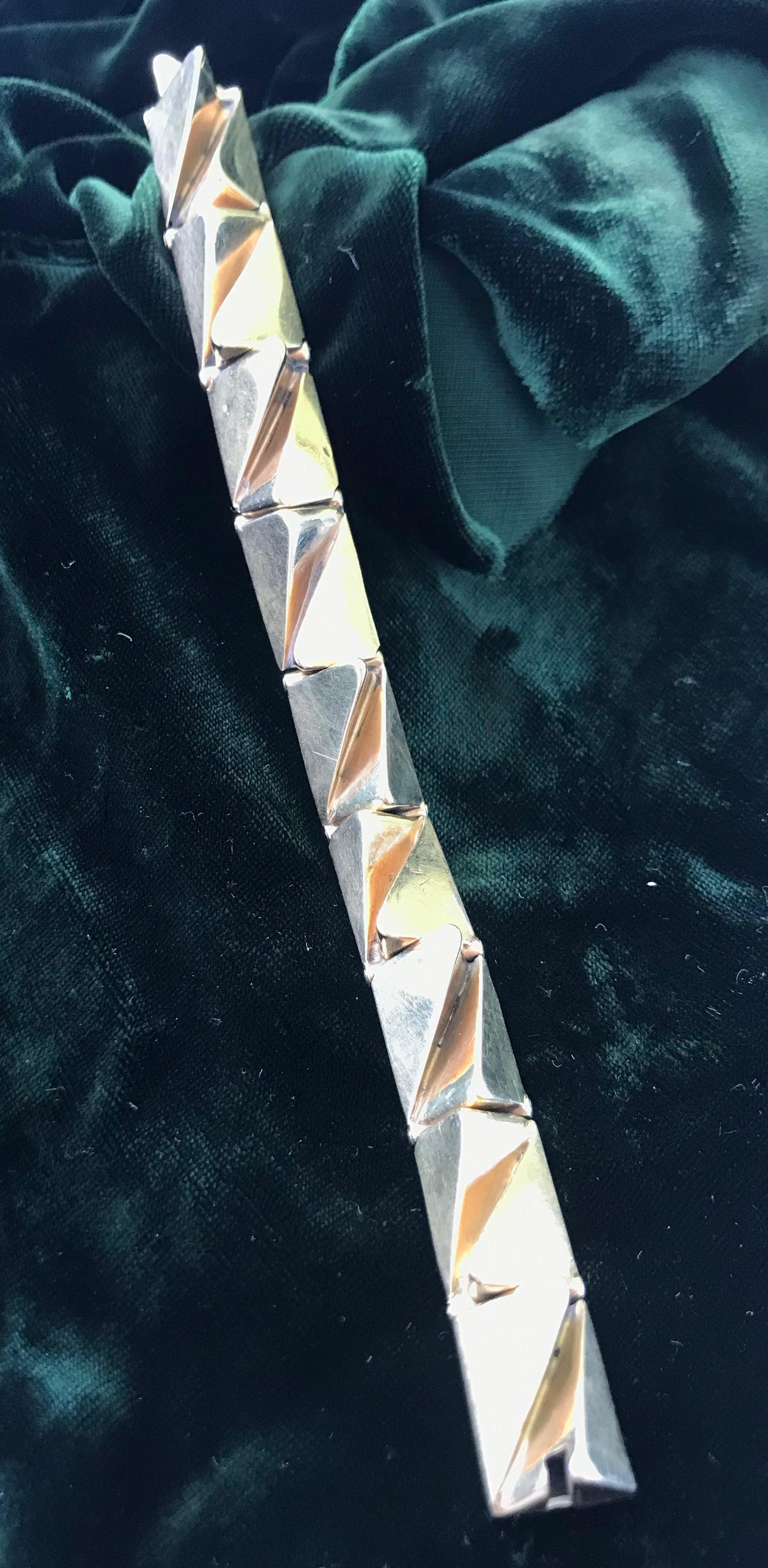 Karel Niehorster, armband van goud, 1967; Particuliere collectie