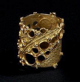 Gerda Flöckinger, #990, ring, goud, diamanten
