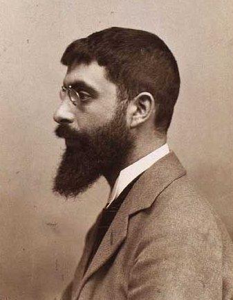 Mogens Ballin, circa 1905. Foto met dank aan Wikimedia Commons, portret
