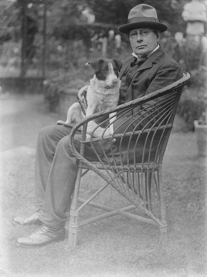 George Charles Beresford, portret George Frampton, 1915