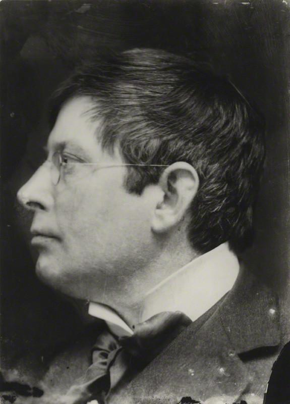 George Charles Beresford, portret George Frampton, 1902