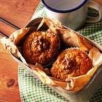 Pear & Walnut Muffins