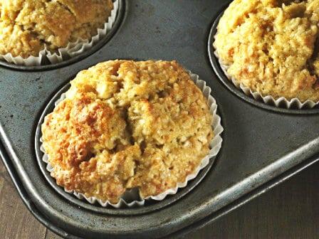 Coconut & Vanilla Muffins
