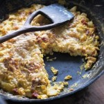 Chorizo and Potato Frittata