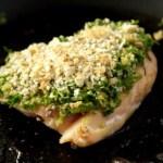 Wild Garlic & Walnut Crust (for Fish, Lamb, Chicken or Mushroom)
