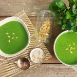 Watercress and Pine Nut Soup ~ Superfood Soups