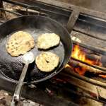 Simple Flatbread Recipe ~ Campfire Cooking