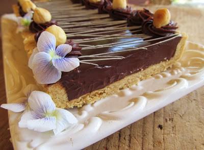 4 Hazelnut chocolate tart