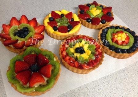 Glazed Fruit Tarts