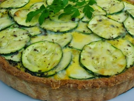 Three Allium Tart
