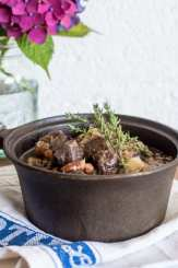 Slow Cooker Venison in Cider