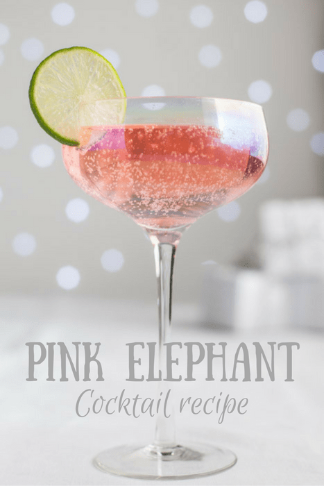 Pink Elephant Cocktail Recipe