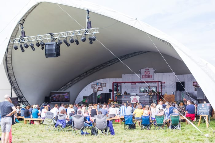 The Neff Cookaholics Stage at the Big Festival