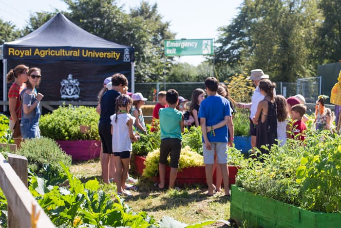 The Neff kids garden at The Big Feastival 2017