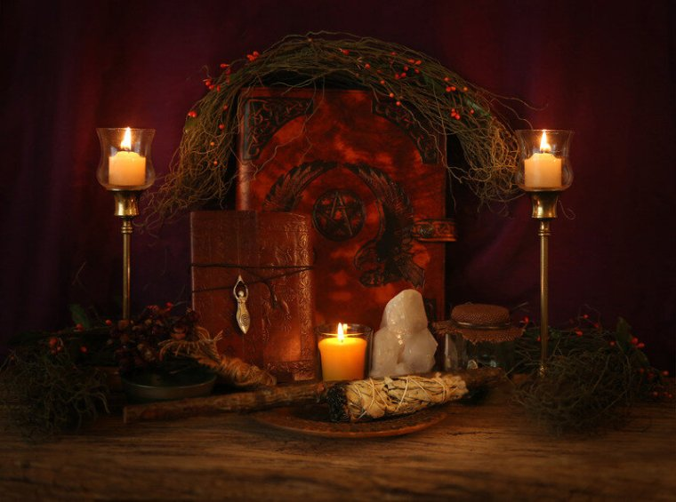 Canva - Candle Lit Wiccan Altar.jpg