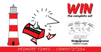 Children's books | Henry the Hedgegnome | Primary Times competition