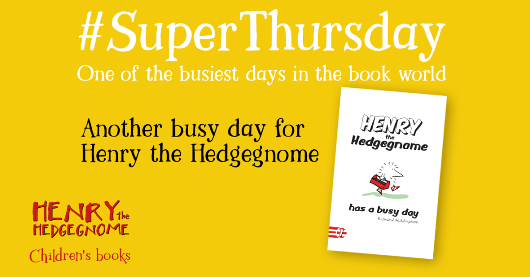 Children's books | Henry the Hedgegnome | Super Thursday