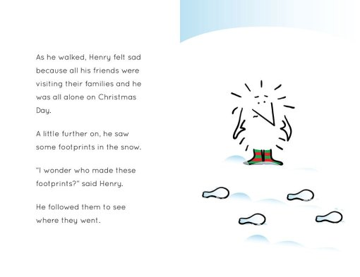 Henry the Hedgegnome's amazing Christmas Day - spread 3