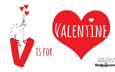 V is for Valentine.