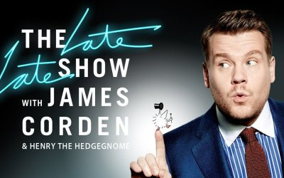 Henry the Hedgegnome to appear on The Late Late Show with James Corden