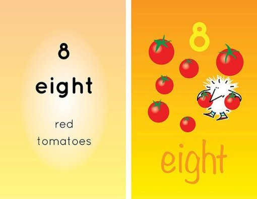 Children's books | Henry the Hedgegnome loves numbers 8 tomotoes