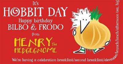 Children's books   Henry the Hedgegnome   Hobbit Day