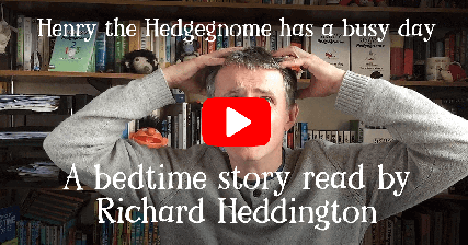 Henry the Hedgegnome children's books. Bedtime story read by the author. - video