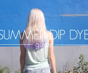 Dip Hair Dye Diy