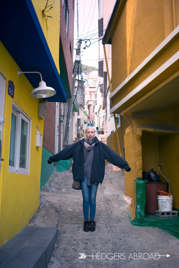The most colorful neighborhood in South Korea // GAMCHEON VILLAGE