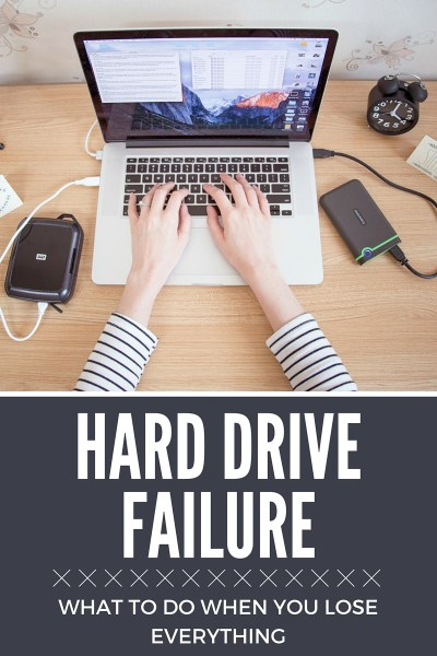 Hard drive failure // What to do when you lose everything