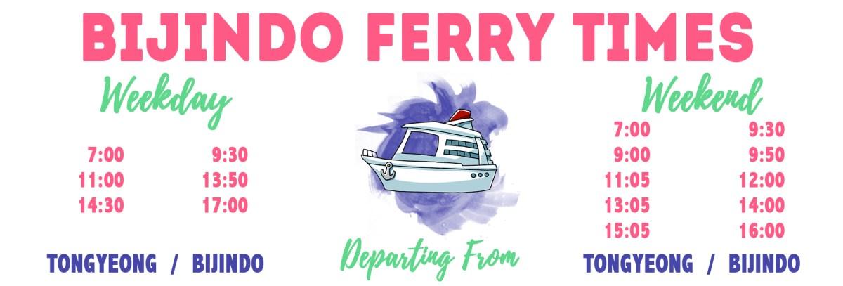Bijindo Ferry Times