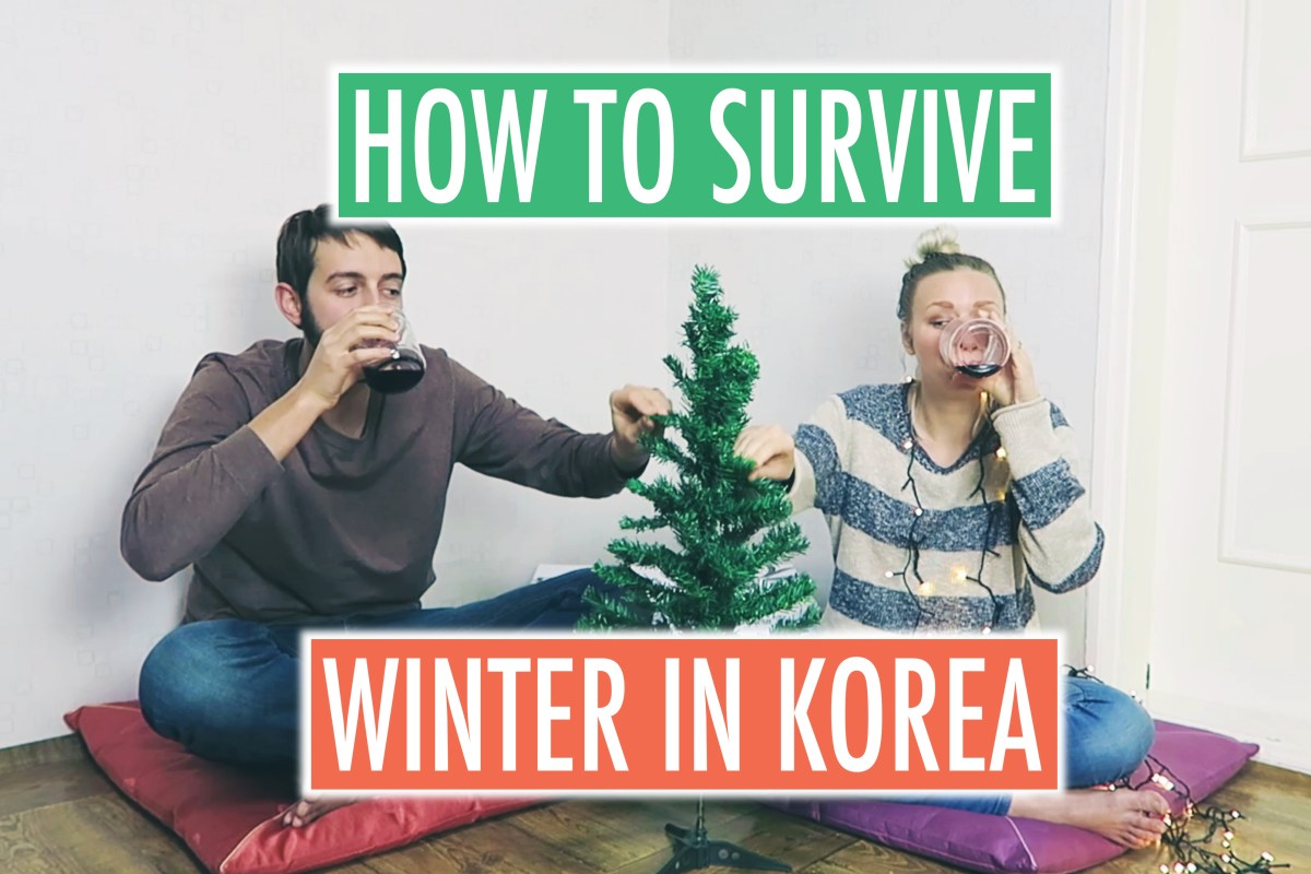 How to Survive Winter // SOUTH KOREA