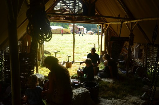 Inside Simon Summers' Earth Clan Iron Age Forge - Hedgespoken beyond