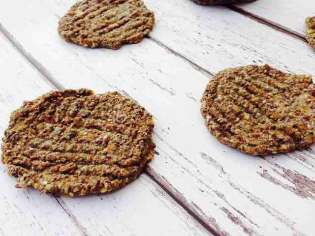 chia and flax seed biscuits 5