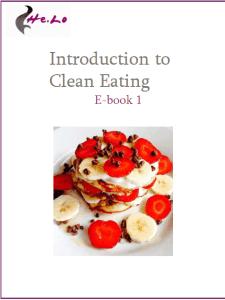 Clean eating book