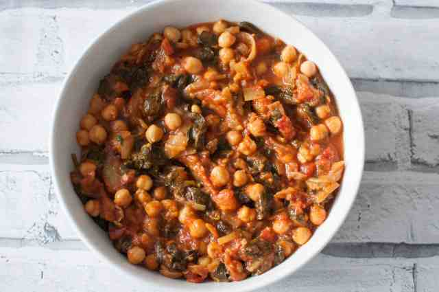 Clean eating chickpea curry recipe 5