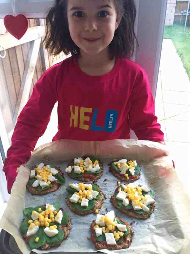 Mini cauliflower pizzas recipe 6