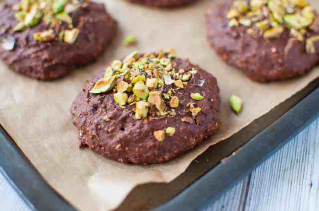 Chocolate orange cookie recipe with wholesome ingredients making it much better for you than shop bought versions