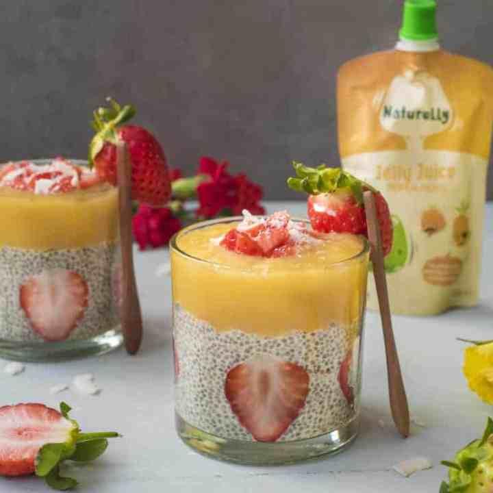 Healthy Jelly Chia Pudding recipe