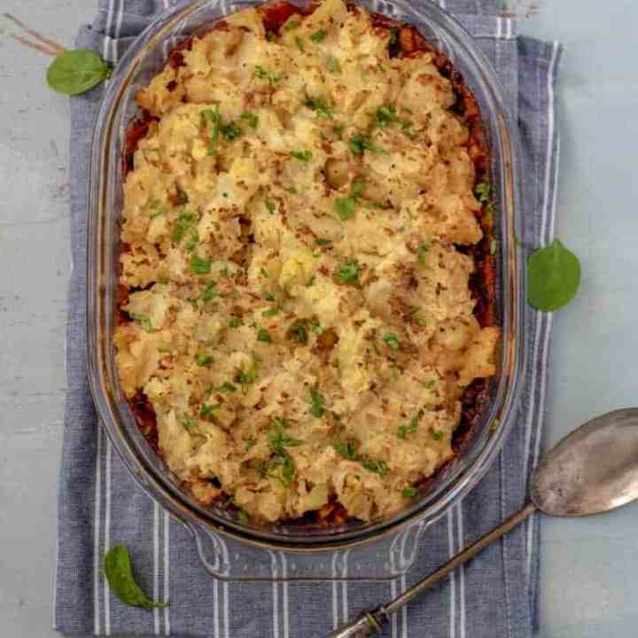 Easy Healthy Shepherd's Pie Recipe