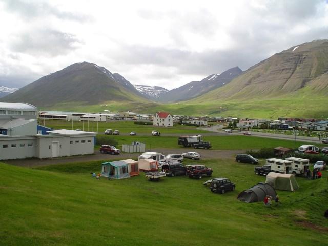 Tjaldsvæðið i Ólafsfirði