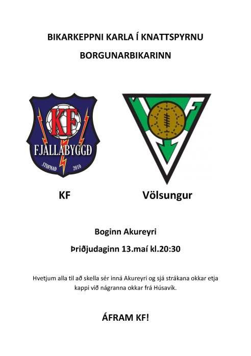 KF vs Völsungur bikarleikur í búðir (1)