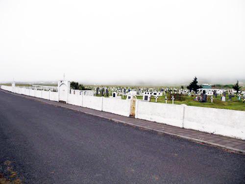 Kirkjugarður - sauðárkrókur