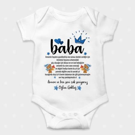 Baba Özel Güzel Söz Konuşan Bebek Zıbını
