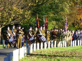 Parade to Cenotaph