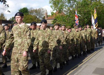 Cadets Parade 2014 Baxtergate
