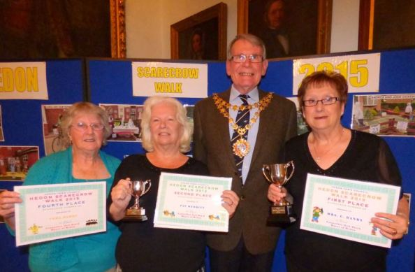 Vera Hardy, Pat Merritt and Carol Danby from Holderness Grange
