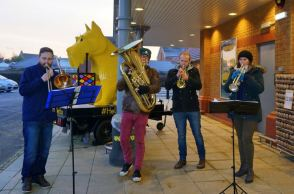 The Netto Band played on!