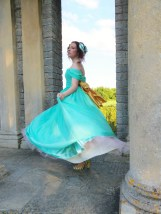 The making of a Chiffon Ball Gown